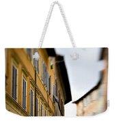 Streets Of Siena Weekender Tote Bag