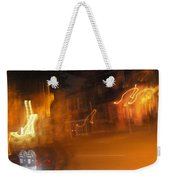 Streets On Fire Weekender Tote Bag