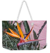 Strelitzia Double Bloom Weekender Tote Bag