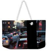 Stret Car Traffic Weekender Tote Bag