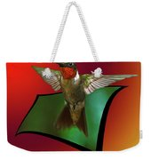 Stretching My Wings Weekender Tote Bag