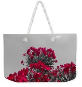 Striking Red  Weekender Tote Bag