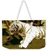 Striking Tiger Weekender Tote Bag