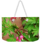 String Of Bleeding Hearts Weekender Tote Bag