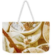 String Of Buttons Weekender Tote Bag