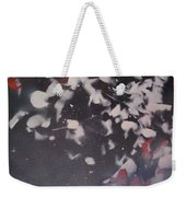 String Theory - Colored Leaves Weekender Tote Bag