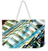 Strings Z100 Abstract Weekender Tote Bag