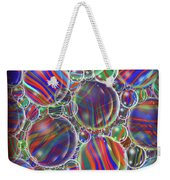 Striped Biggons Marbles Weekender Tote Bag