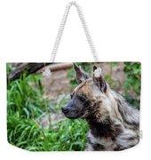 Striped Hyena Weekender Tote Bag
