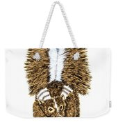 Striped Skunk Weekender Tote Bag