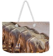 Stripes  7578 Weekender Tote Bag