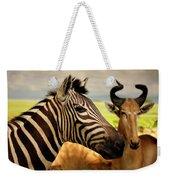 Stripes And Horns 2 Weekender Tote Bag