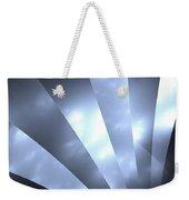 Stripes And Sky Weekender Tote Bag