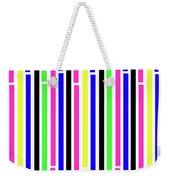 Stripes Weekender Tote Bag