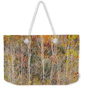 Stripped Bare To The Bark Weekender Tote Bag