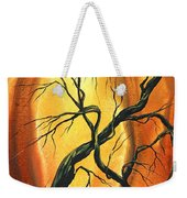 Striving To Be The Best By Madart Weekender Tote Bag by Megan Duncanson