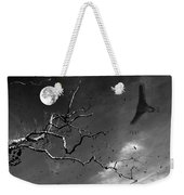Stroke Of Midnight Weekender Tote Bag