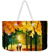 Stroll In The Forest Weekender Tote Bag