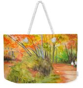 Strolling Along The Canal Weekender Tote Bag