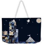 Strolling Along The Seine At 3 Am Weekender Tote Bag