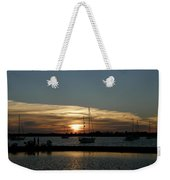 Strolling In The Sunset Weekender Tote Bag