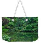 Strolling Pond Serenity Weekender Tote Bag