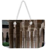 Strolling The Courtyard Of The Lions Weekender Tote Bag