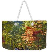 Strolling The Upper Cascades Trail Weekender Tote Bag