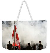 Strong And Free  Weekender Tote Bag