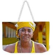 Strong Woman Weekender Tote Bag