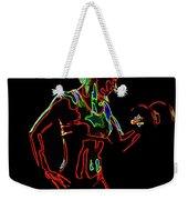 Strong Women 6 Weekender Tote Bag