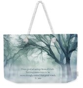 Strongly Rooted Weekender Tote Bag