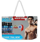 Strongtesteronehydromusclemaxuk Weekender Tote Bag