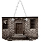 Structural Symetry - Sepia Weekender Tote Bag