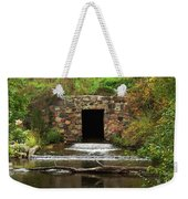 Structure Of A Stream Weekender Tote Bag
