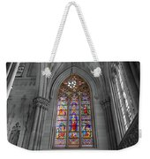Structures Of St. Patrick Cathedral Bw Weekender Tote Bag