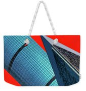 Structures Tilted 2 Weekender Tote Bag
