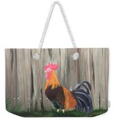 Strutting Around The Farm  Weekender Tote Bag