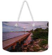 Stuart Riverwalk Sunset Weekender Tote Bag