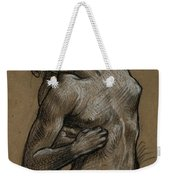 Study For And The Sea Gave Up The Dead Which Were In It Weekender Tote Bag