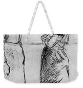 Study For The Cat Camille Pissarro Weekender Tote Bag