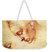 Study For The Head Of Leda Weekender Tote Bag