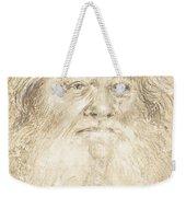 Study Of A Bearded Man [verso] Weekender Tote Bag