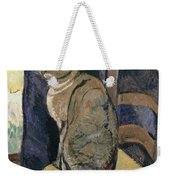 Study Of A Cat Weekender Tote Bag