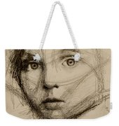 Study Of A Face Weekender Tote Bag
