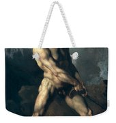 Study Of A Male Nude Weekender Tote Bag