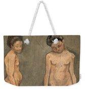 Study Of A Naked Model Weekender Tote Bag