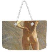 Study Of A Nude Boy Weekender Tote Bag