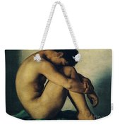 Study Of A Nude Young Man Weekender Tote Bag