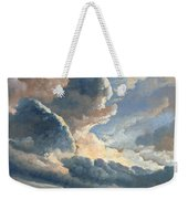 Study Of Clouds With A Sunset Near Rome Weekender Tote Bag